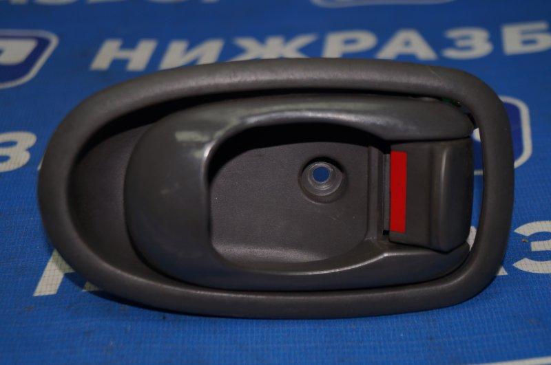 Ручка двери внутренняя Kia Spectra 1.6 (S6D) 180501 2008 задняя левая (б/у)