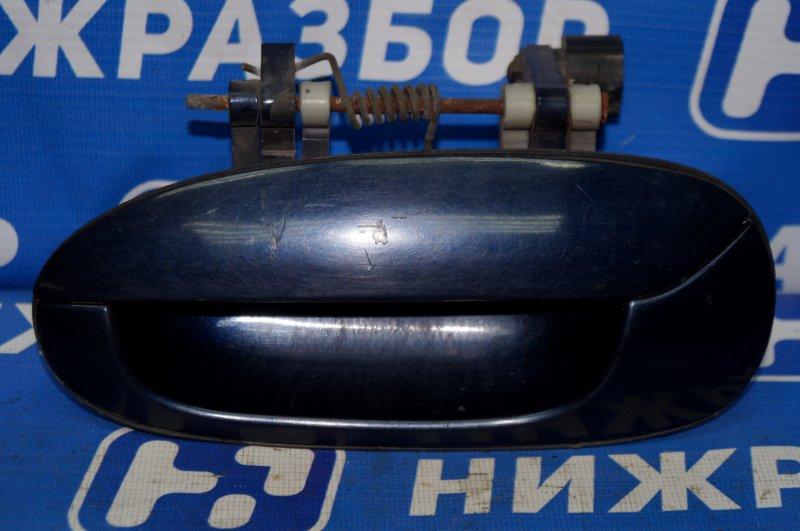 Ручка двери наружная Kia Spectra 1.6 (S6D) 180501 2008 задняя левая (б/у)