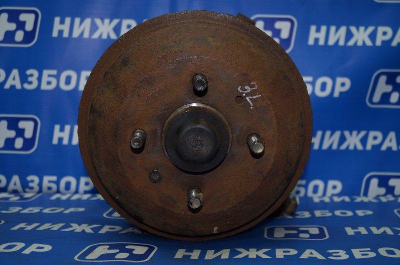 Кулак поворотный Hyundai Accent 2 LC 1.5 G4EC 2005 задний левый (б/у)