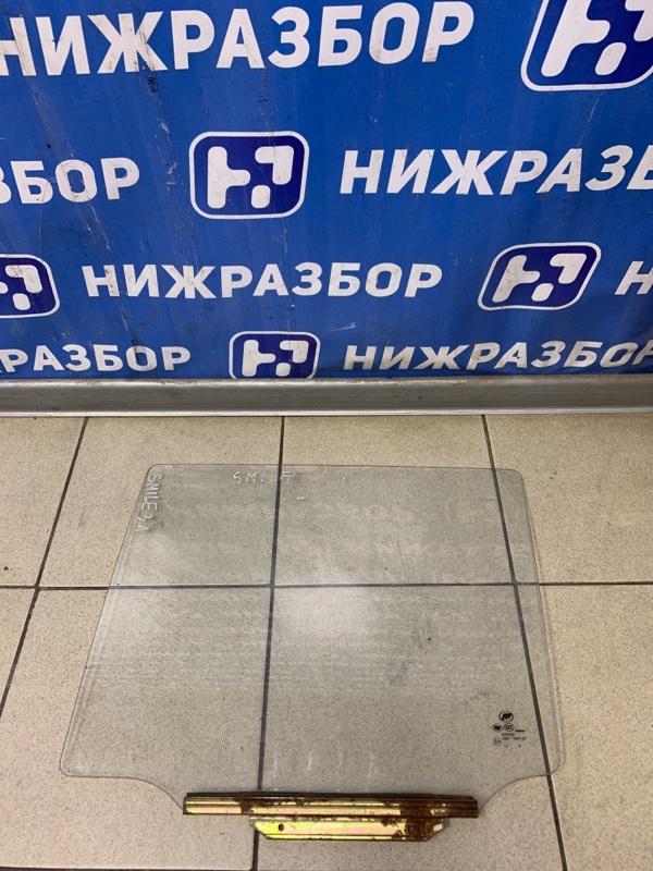 Стекло двери Lifan Smily 320 2008 заднее правое (б/у)
