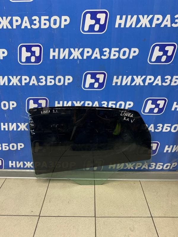 Стекло двери Fiat Linea 2007 заднее левое (б/у)