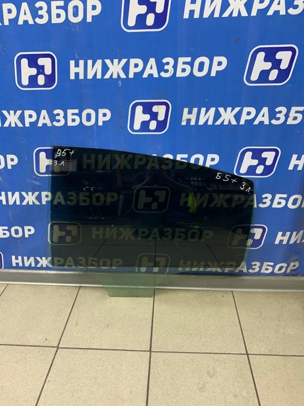 Стекло двери Volkswagen Passat B5 1996 заднее левое (б/у)