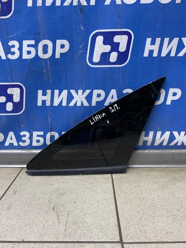 Форточка двери Fiat Linea 2007 правая (б/у)
