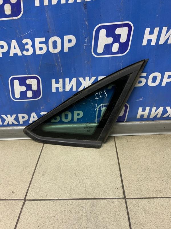 Форточка двери Ford Focus 3 2011 задняя правая (б/у)