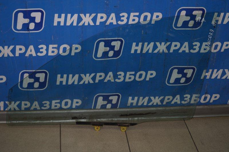 Стекло двери Mitsubishi Lancer 9 CS переднее левое (б/у)