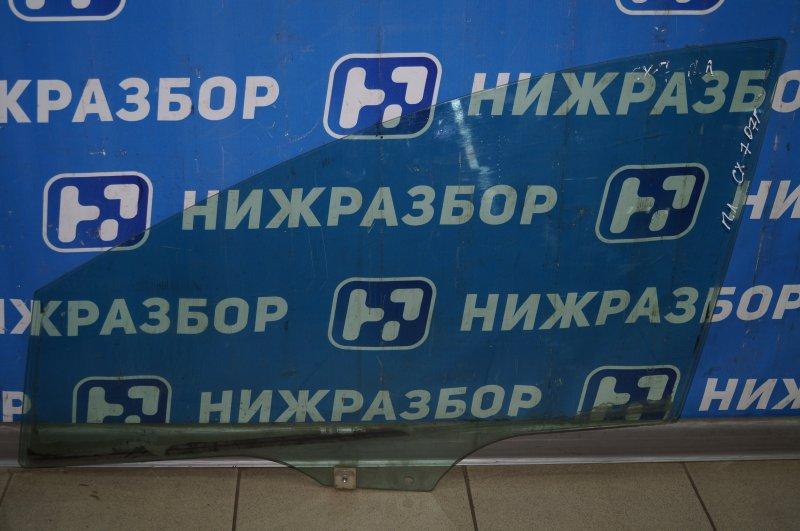 Стекло двери Mazda Cx 7 ER 2007 переднее левое (б/у)
