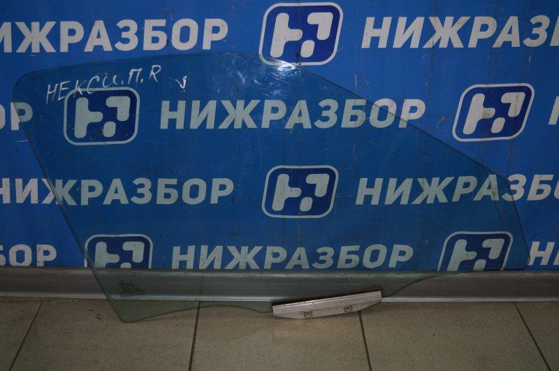 Стекло двери Daewoo Nexia 1995 переднее правое (б/у)