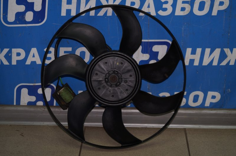Вентилятор радиатора Chevrolet Cruze J300 1.6 (F16D3) ` 2012 (б/у)