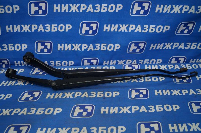 Поводок стеклоочистителя к-кт Chevrolet Cruze J300 1.6 (F16D3) ` 2012 передний (б/у)