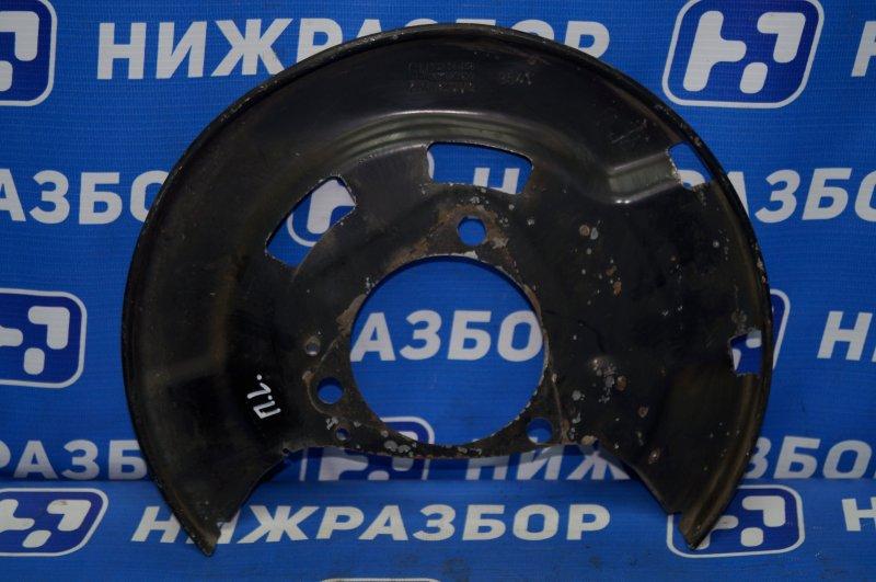 Пыльник тормозного диска Chevrolet Cruze J300 1.6 (F16D3) ` 2012 передний левый (б/у)