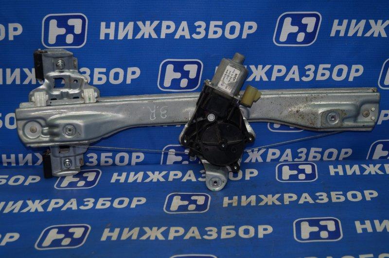 Стеклоподъемник эл. Chevrolet Cruze J300 1.6 (F16D3) ` 2012 задний правый (б/у)