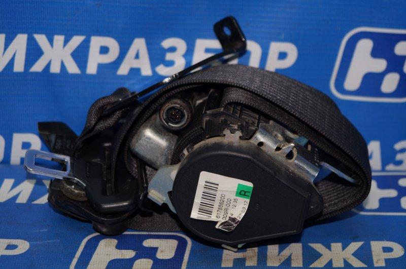 Ремень безопасности с пиропатроном Chevrolet Cruze J300 1.6 (F16D3) ` 2012 передний правый (б/у)