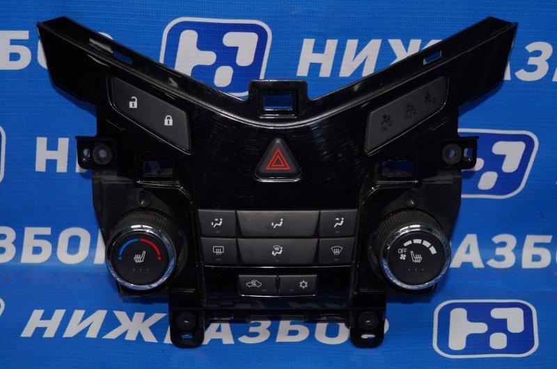 Блок управления отопителем Chevrolet Cruze J300 1.6 (F16D3) ` 2012 (б/у)