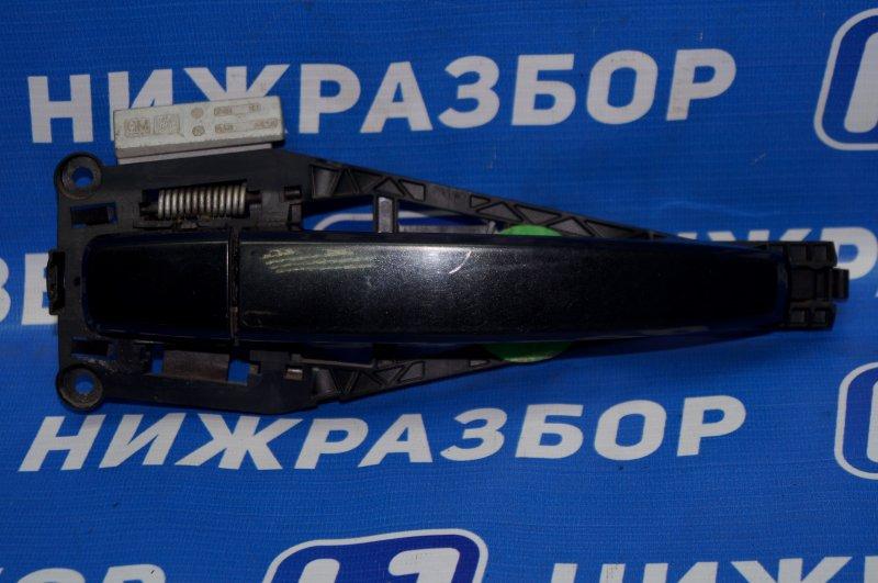 Ручка двери наружная Chevrolet Cruze J300 1.6 (F16D3) ` 2012 передняя правая (б/у)
