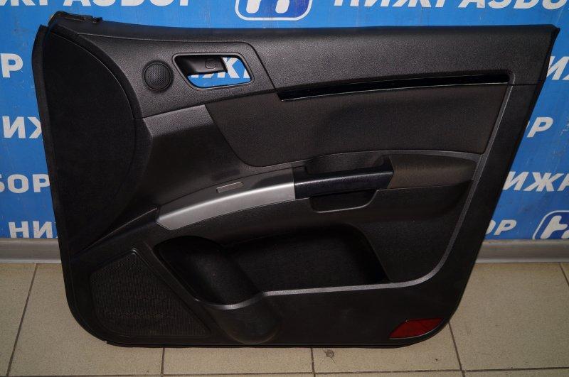 Обшивка двери Geely Emgrand EC7 1.8 (JL4G18) CAND02184 2013 передняя правая (б/у)