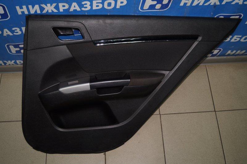 Обшивка двери Geely Emgrand EC7 1.8 (JL4G18) CAND02184 2013 задняя правая (б/у)