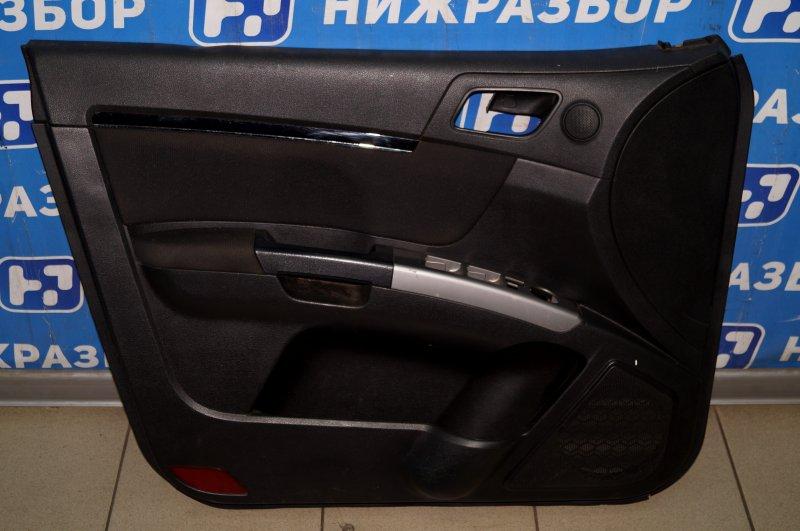 Обшивка двери Geely Emgrand EC7 1.8 (JL4G18) CAND02184 2013 передняя левая (б/у)