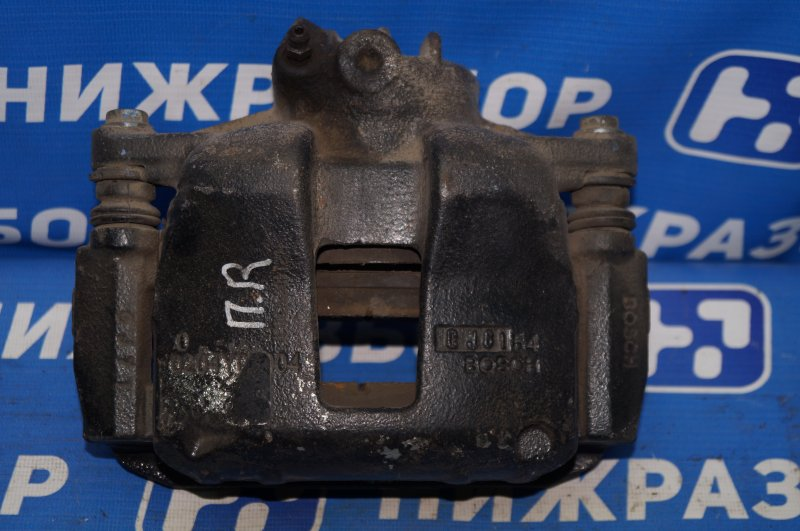 Суппорт Geely Emgrand EC7 1.8 (JL4G18) CAND02184 2013 передний правый (б/у)