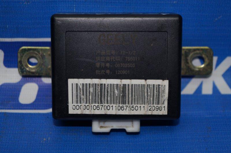 Блок управления парктроником Geely Emgrand EC7 1.8 (JL4G18) CAND02184 2013 (б/у)
