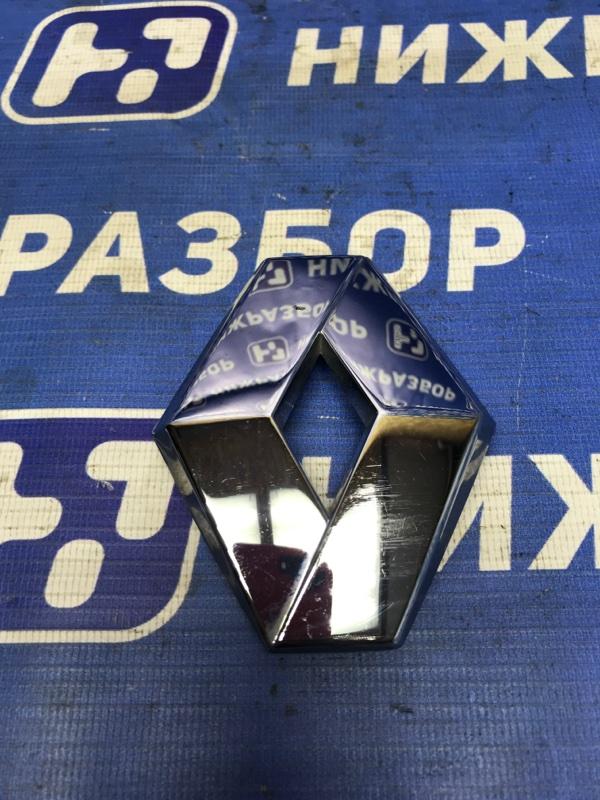 Значок (эмблема) Renault Sandero задний (б/у)