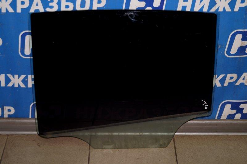 Стекло двери Chevrolet Cruze J300 1.6 (F16D3) ` 2012 заднее левое (б/у)