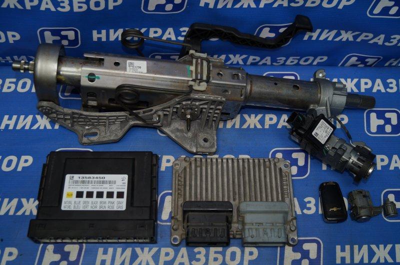 Замок зажигания (комплект) Chevrolet Cruze J300 1.6 (F16D3) ` 2012 (б/у)