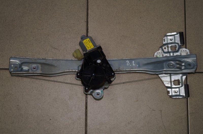 Стеклоподъемник эл. Chevrolet Cruze J300 1.6 (F16D3) ` 2012 задний левый (б/у)