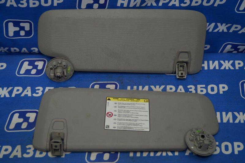 Козырек солнцезащитный Chevrolet Cruze J300 1.6 (F16D3) ` 2012 (б/у)