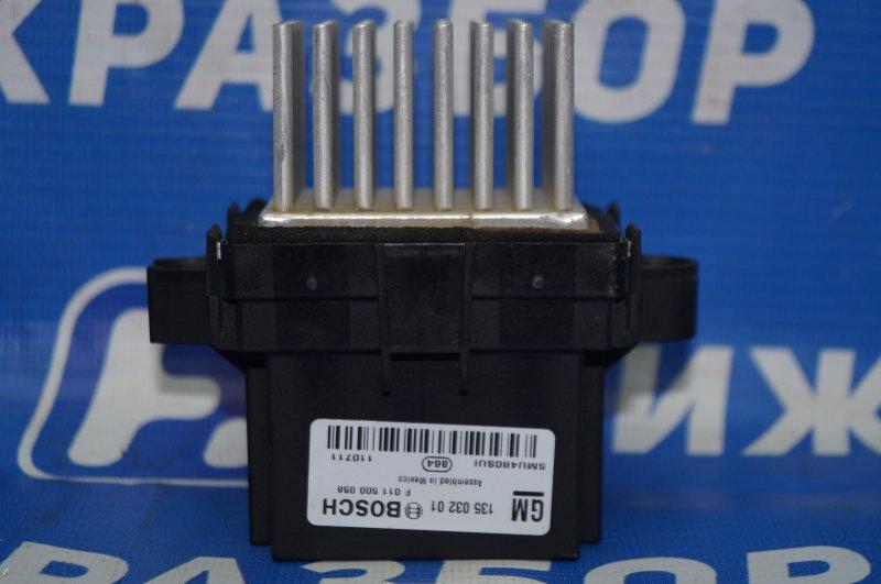 Резистор отопителя Chevrolet Cruze J300 1.6 (F16D3) ` 2012 (б/у)