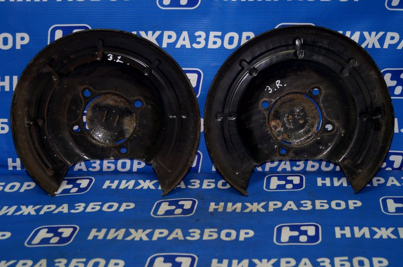 Пыльник тормозного диска Chevrolet Cruze J300 1.6 (F16D3) ` 2012 задний (б/у)
