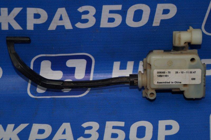 Актуатор лючка бензобака Chevrolet Cruze J300 1.6 (F16D3) ` 2012 (б/у)