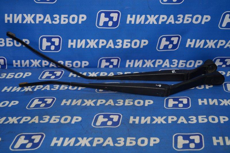 Поводок стеклоочистителя к-кт Mitsubishi Lancer 9 CS/CLASSIC 1.3 (4G13) 2006 передний (б/у)