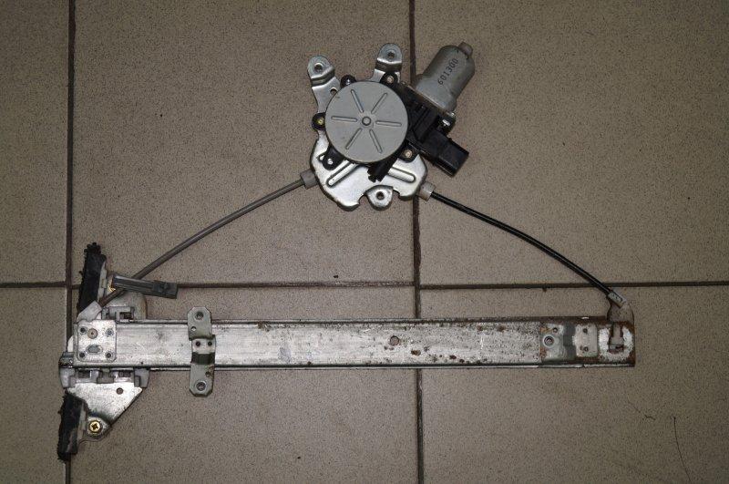 Стеклоподъемник эл. Mitsubishi Lancer 9 CS/CLASSIC 1.3 (4G13) 2006 задний левый (б/у)