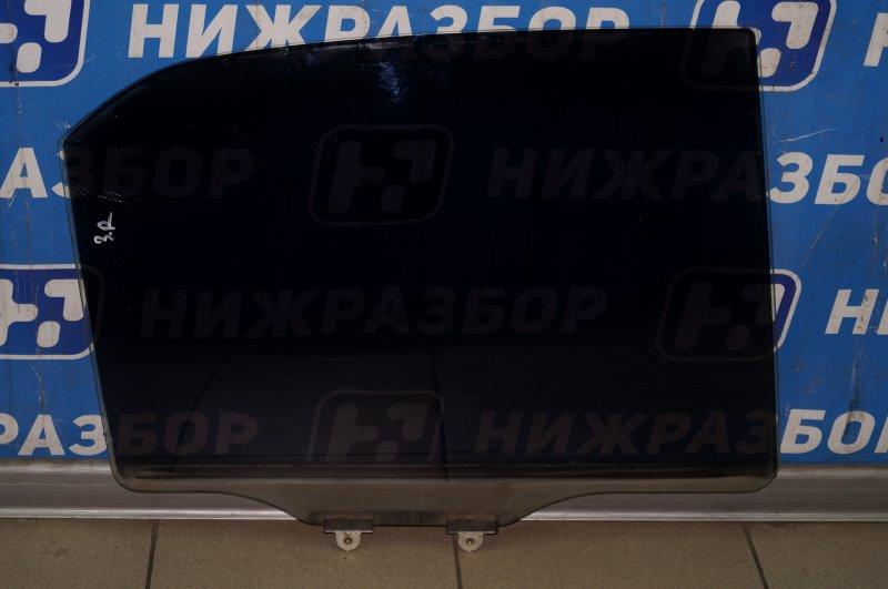 Стекло двери Mitsubishi Lancer 9 CS/CLASSIC 1.3 (4G13) 2006 заднее правое (б/у)