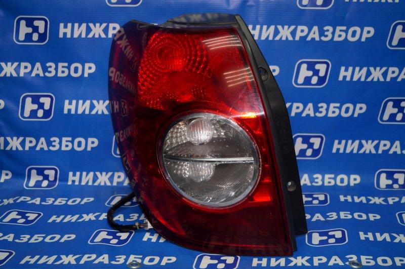 Фонарь Chevrolet Captiva C100 3.2 10HMC 2008 задний левый (б/у)