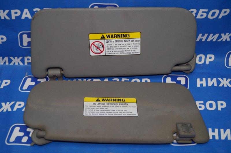 Козырек солнцезащитный Hyundai Elantra HD 1.6 (G4FC) 2009 (б/у)