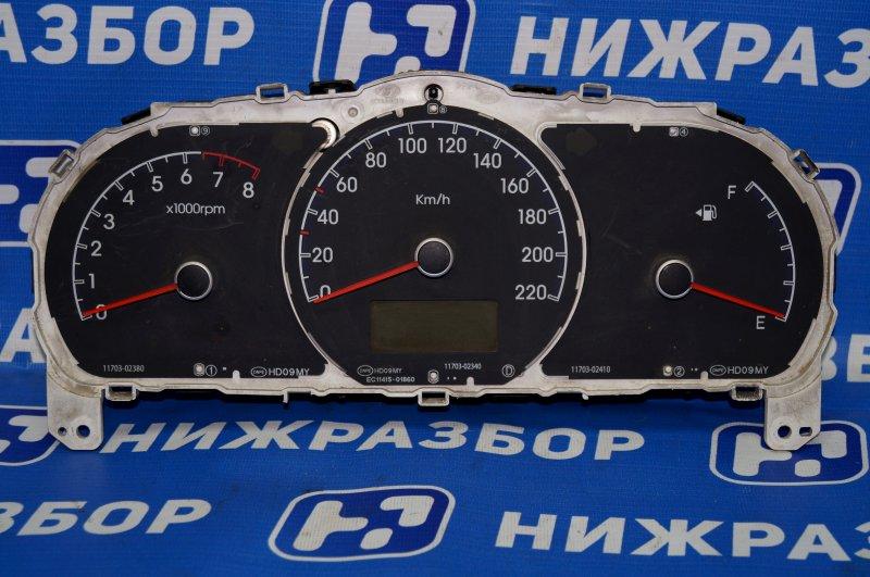 Панель приборов Hyundai Elantra HD 1.6 (G4FC) 2009 (б/у)
