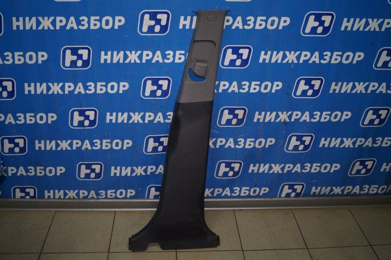 Обшивка стойки Hyundai Elantra HD 1.6 (G4FC) 2009 правая (б/у)