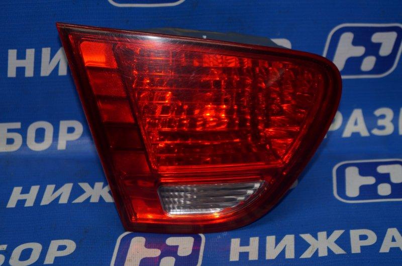 Фонарь внутренний Hyundai Elantra HD 1.6 (G4FC) 2009 задний левый (б/у)