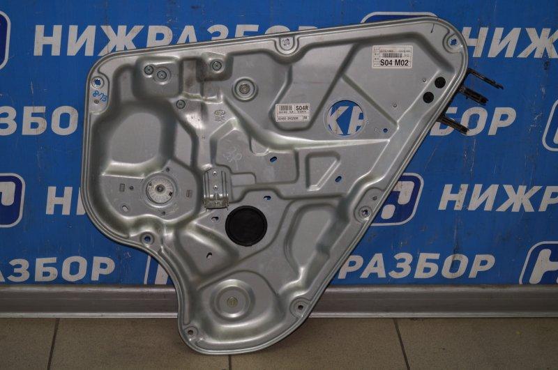 Стеклоподъемник эл. Hyundai Elantra HD 1.6 (G4FC) 2009 задний правый (б/у)