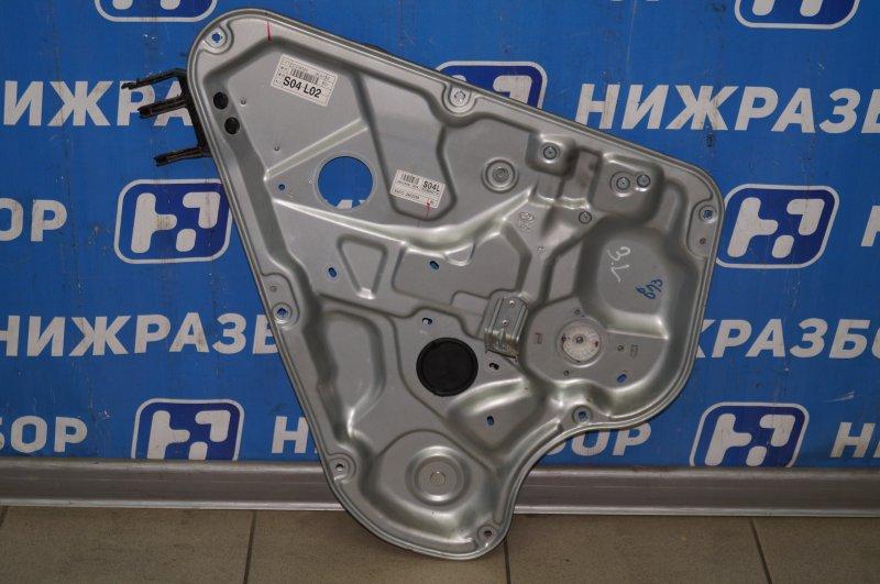 Стеклоподъемник эл. Hyundai Elantra HD 1.6 (G4FC) 2009 задний левый (б/у)