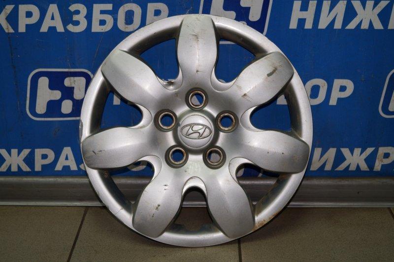 Колпак декоративный Hyundai Elantra HD 1.6 (G4FC) 2009 (б/у)