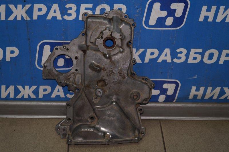 Крышка двигателя Hyundai Elantra HD 1.6 (G4FC) 2009 передняя (б/у)