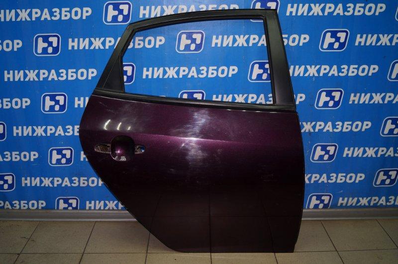 Дверь Hyundai Elantra HD 1.6 (G4FC) 2009 задняя правая (б/у)