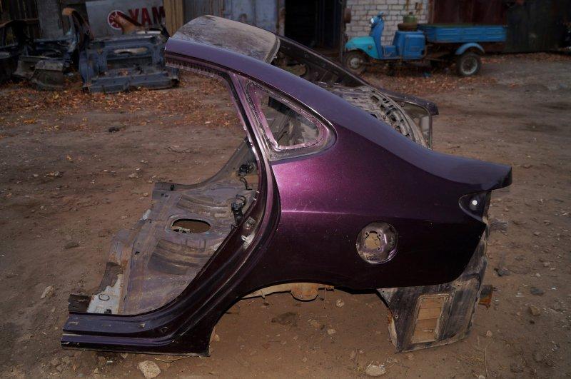 Крыло Hyundai Elantra HD 1.6 (G4FC) 2009 заднее левое (б/у)