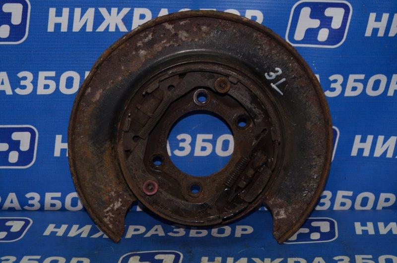 Щит опорный Hyundai Elantra HD 1.6 (G4FC) 2009 задний левый (б/у)