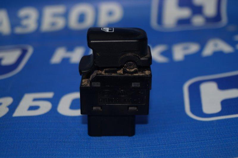 Кнопка стеклоподъемника Hyundai Elantra HD 1.6 (G4FC) 2009 передняя правая (б/у)