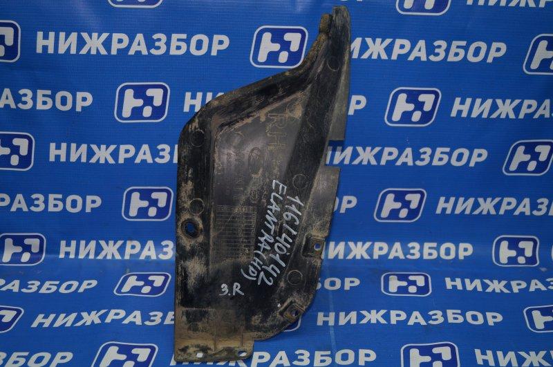Локер Hyundai Elantra HD 1.6 (G4FC) 2009 задний правый (б/у)