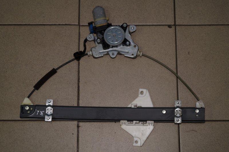 Стеклоподъемник эл. Chevrolet Captiva C100 3.2 10HMC 2008 задний левый (б/у)