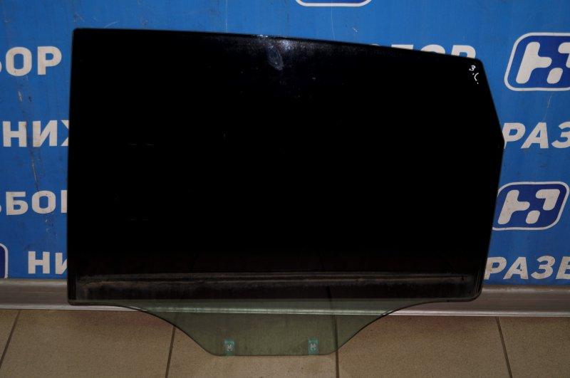 Стекло двери Chevrolet Captiva C100 3.2 10HMC 2008 заднее левое (б/у)